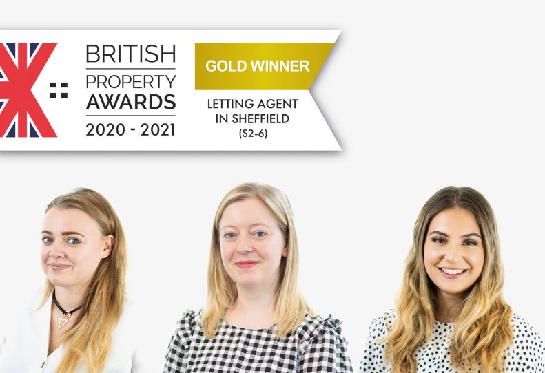 Gold Winners 2 Years in a Row! British Property Awards for Lettings