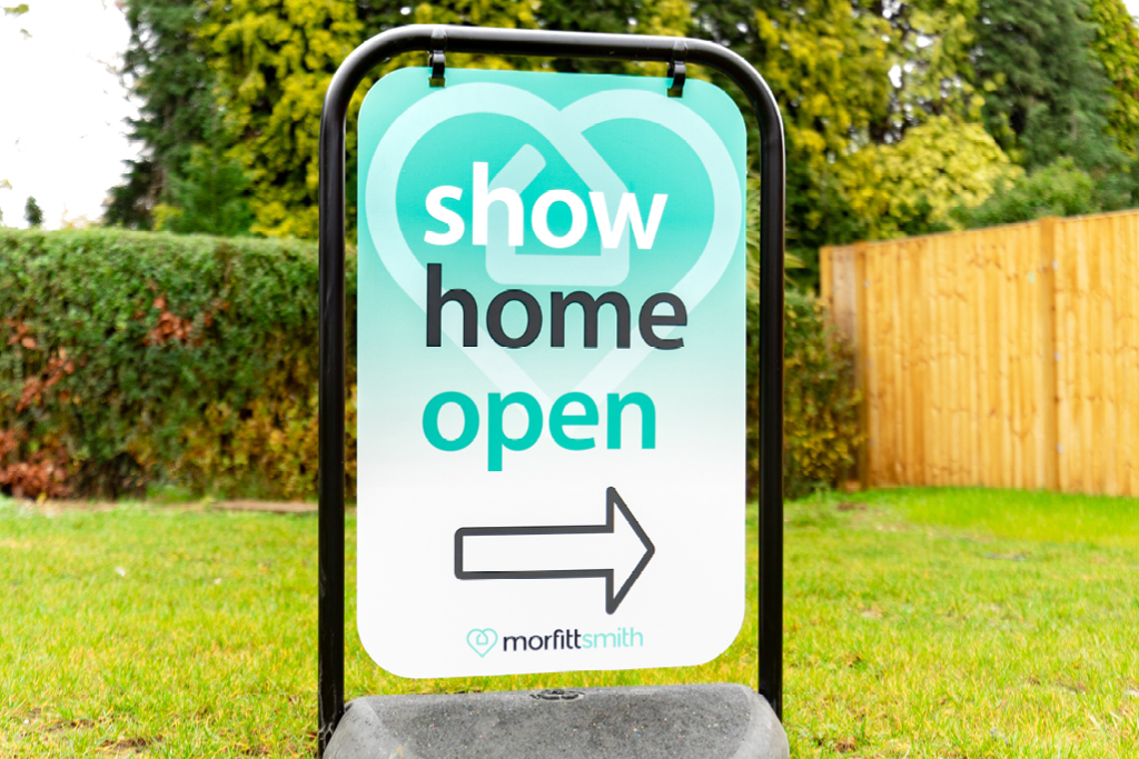 Show Home Sign