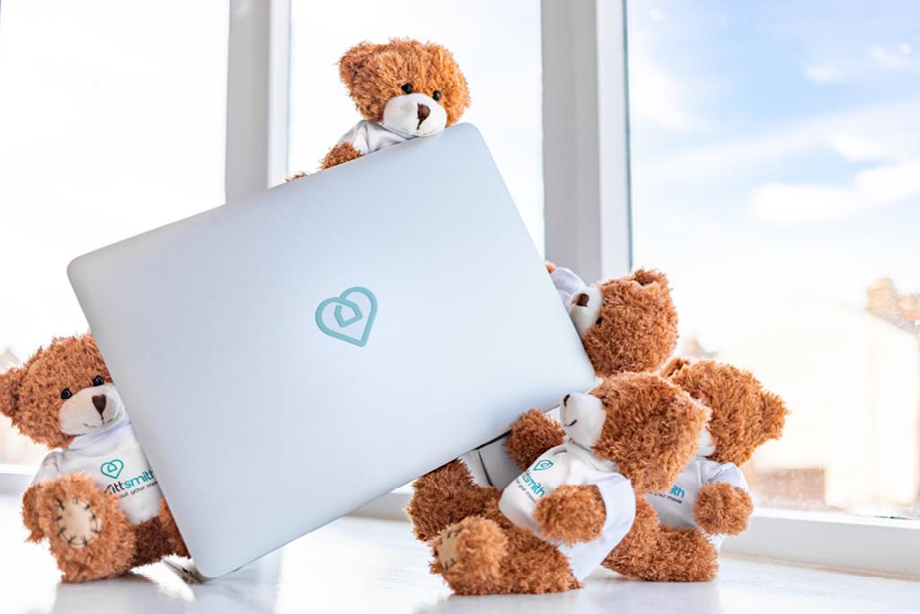 Smiffy Bears Laptop