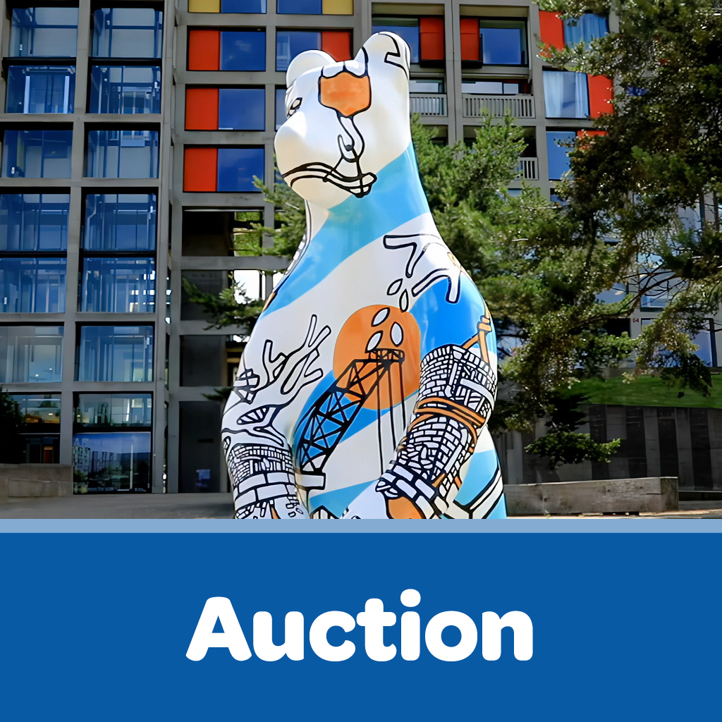 Bears Button Auction